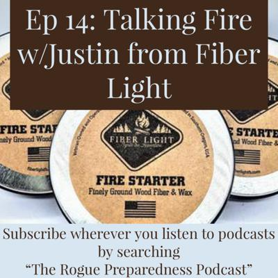 Cover art for Talking Everything Fire W/Justin from Fiber Light