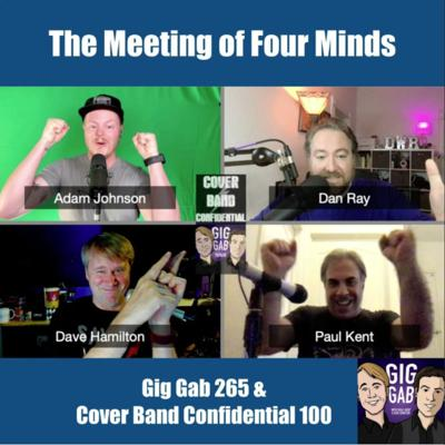 Cover art for CBC #100 And GigGab #265 (The Meeting of Four Minds)