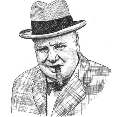 Cover art for Situations and Intuitions with Winston Churchill