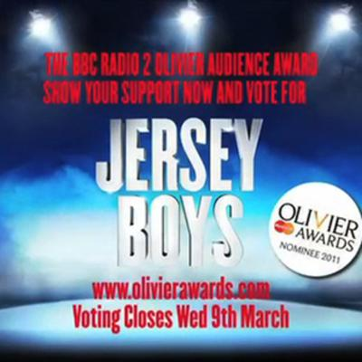 Cover art for Jersey Boys needs your vote!