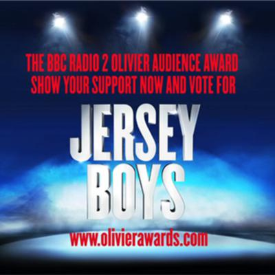 Cover art for Vote for Jersey Boys