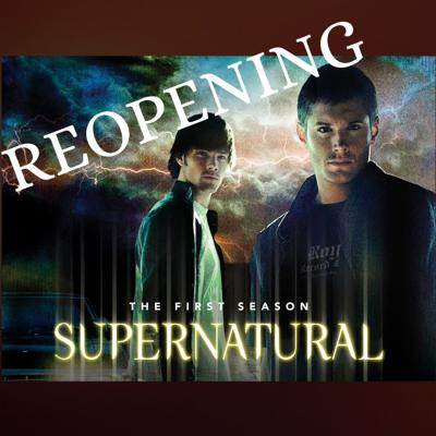 Cover art for Reopening... Supernatural - A spin Off!