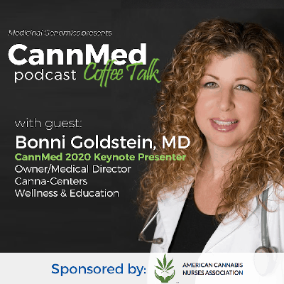 Cover art for CannMed 2020 Medicine Keynote: Bonni Goldstein, MD