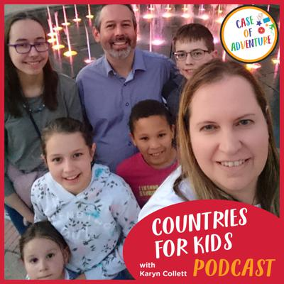 Have fun learning about countries with this podcast from CASE OF ADVENTURE