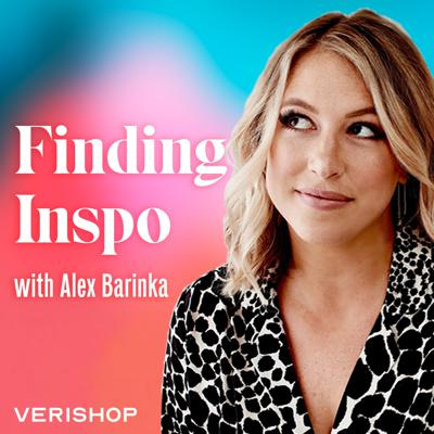 Finding Inspo with Alex Barinka digs in to how luminaries in fashion, design and social media turn inspiration into reality through the businesses they've founded and products they create. A former national journalist and current Head of External Affairs for e-commerce startup Verishop, Alex will lead her stylish guests in serving honest, vulnerable, entertaining real-talk that will inspire and educate. And in partnership with Verishop, every weekly episode will be shoppable in a special Finding Inspo store curated by Alex and her guests at verishop.com/inspo.