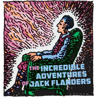 Like a modern day Alice Through the Looking Glass, The Incredible Adventures of Jack Flanders is five hours of humorous fantasy adventure.  Metaphysical adventurer Jack Flanders discovers a green velvet overstuffed chair. Each night at the stroke of midnight, Jack sits in the soft, comfortable chair which comes alive, luring him onto its velvety realm. Everyday reality fades away, and Jack finds himself in a strange, other-world of magic, pirates, and sorcery where huge puffballs cling to ceilings and walls, masted sailing ships with wings fly the skies and islands float in the air…