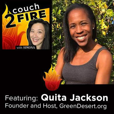 Cover art for C2F 19: Live a Bit of a GREENER Life with Quita Jackson