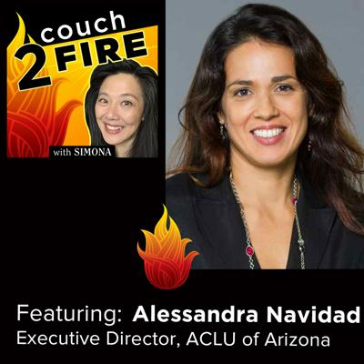 Cover art for C2F 23: Get Outside of Your Comfort Zone and Step Forward - with Alessandra Navidad ACLU Arizona