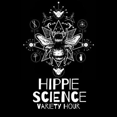 She's an uber hippy and he's a scientist, so you can imagine these two's views on the world are pretty different. Join these two on the Hippie Science Variety Hour Podcast as these two proud geeks talk about subjects where those two perspectives can overlap, and parse out the bullshit of the reasons they sometimes cannot no matter how hard they try.  Through delving into ideas that on the surface seem to be purely scientific or mystical; one finds that these two seemingly polar opposites exist simultaneously throughout the human experience.  By dissecting relatable topics, we can help deepen discussions on all the ways that science and mysticism intersect within our lives.  Find the podcast on all platforms (iTunes, Spotify, Stitcher, Podbean)  www.hippiesciencepodcast.com FB and IG: @hippiesciencepodcast Twitter: @hippie_science
