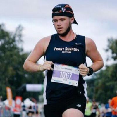 Cover art for #RunChat: An interview with @isaacgrivett