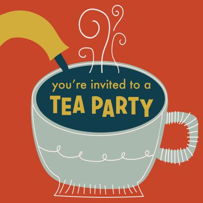 Cover art for You're Invited to a Tea Party