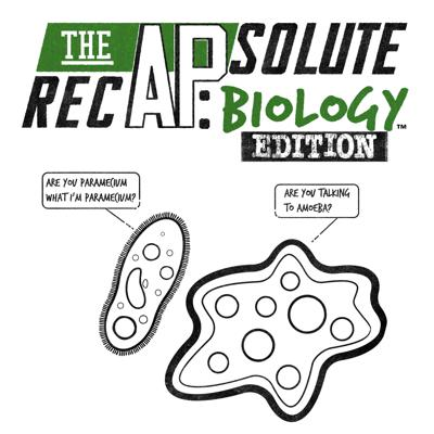 The APsolute RecAP: Biology Edition, written and hosted by Melanie Kingett, will be your guide to scoring the five! The APsolute RecAP is designed to maximize your understanding and minimize your need for memorization. Each episode will review content, skills and test taking tips to help you succeed in May.  (AP is a registered trademark of the College Board and is not affiliated with The APsolute RecAP. Copyright 2020 - The APsolute RecAP, LLC. All rights reserved.)