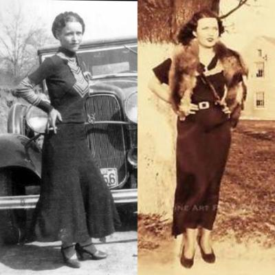 Cover art for 5. Bonnie Parker and Blanche Barrow: The Bluest Shot-At Eyes in Texas