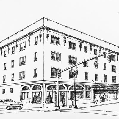 Cover art for St. Francis Hotel