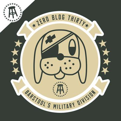 Zero Blog Thirty is a military podcast presented by Barstool  Sports that's listenable for the most crusty of veterans, the bootest of boots, or people who have never touched a weapon in their life. Through the eyes of enlisted Marines and a West Point trained officer, Zero Blog Thirty is like sitting at the online-bar of the VFW and having a virtual cold one with your buddies.