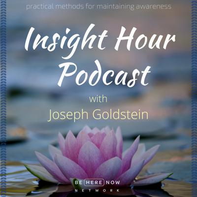 Joseph Goldstein has been a leading light for the practice of Insight and Loving Kindness meditation since his days in India and Burma where he studied with eminent masters of the tradition. In his podcast, The Insight Hour, Joseph delivers these essential mindfulness teachings in a practical and down to earth way that illuminates the practice through his own personal experience and wonderful story telling.