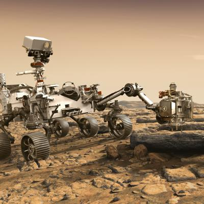 Cover art for 3 Billion Years Ago: Was Mars Alive?