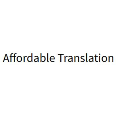 Affordable Translation