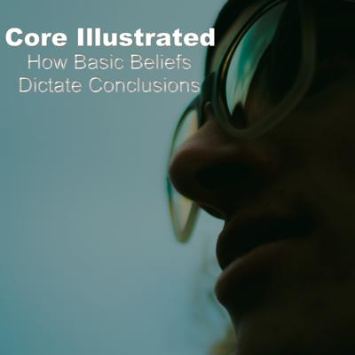 Cover art for Core Illustrated - How Basic Beliefs Dictate Conclusions