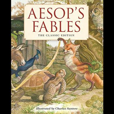 Cover art for Aesop's Fables #2