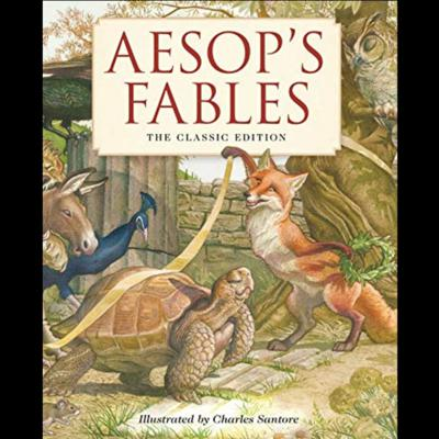 Cover art for Aesop's Fables #1