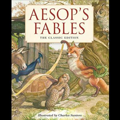 Cover art for Aesop's Fables #4