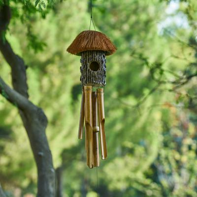 Cover art for Calming Birds and Chimes Sound for Meditation
