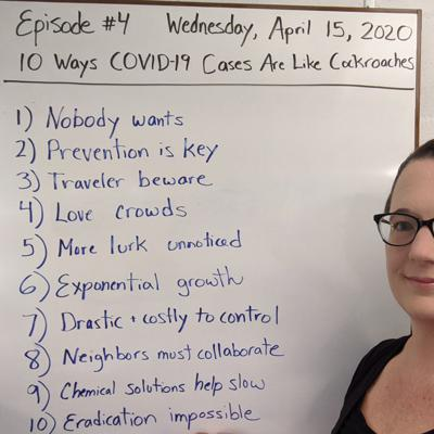 Cover art for Ep4 10 Ways COVID-19 Cases are Like Cockroaches