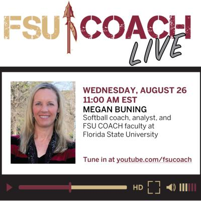 Cover art for Interview with Dr. Megan Buning, Coach, Analyst, Sport Psychologist, & Professor