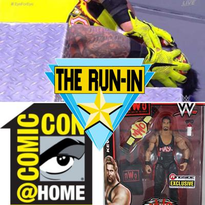 Cover art for WWE Extreme Rules Reaction & We Cover Comic Con At Home Reveal Week!