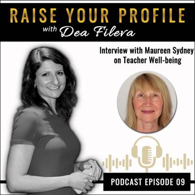 Cover art for Interview with Maureen Sydney on Teacher Well-being
