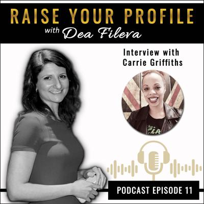 Cover art for Interview with Carrie Griffiths on How Your Voice Can Improve Your Well-being