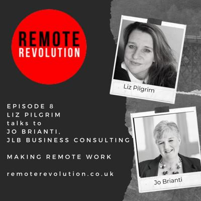 Cover art for Episode 8 Remote Working Data Security with Jo Brianti, JLB Business Consulting
