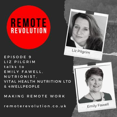 Cover art for Episode 9 Healthy snacking how to avoid the fridge when working from home, with Emily Fawell, Vital Health Nutrition Ltd & 4WellPeople