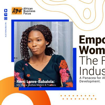 Cover art for Empowering women in the fashion industry : a panacea for African development