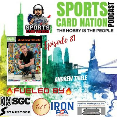 Cover art for Ep.81 w/Andrew Thiele/Topps Project 2020