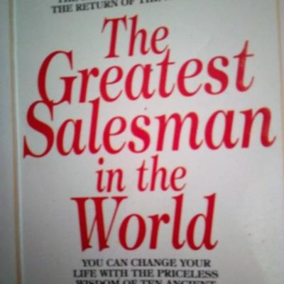 Cover art for Be the greatest salesman in the world