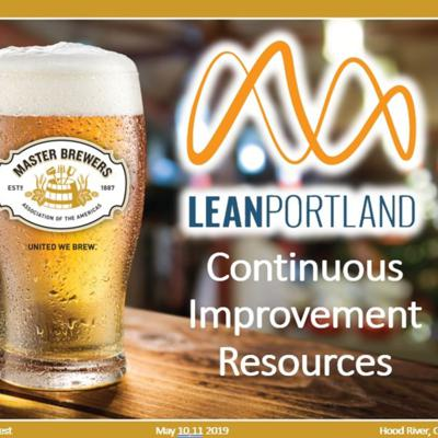 Cover art for Ep 11: Master Brewers Association Northwest - Continuous Improvement Resources Presentation