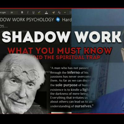 THE SHADOW - PSYCHOLOGY OF THE SHADOW & THE TRUTH FOR HIGHER MEN