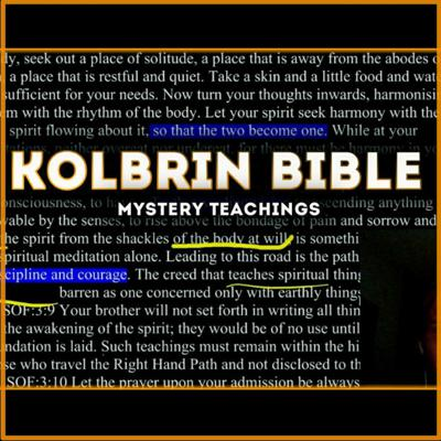 Cover art for KOLBRIN BIBLE - SONS OF FIRE (Ancient Wisdom Mystery School Teachings)