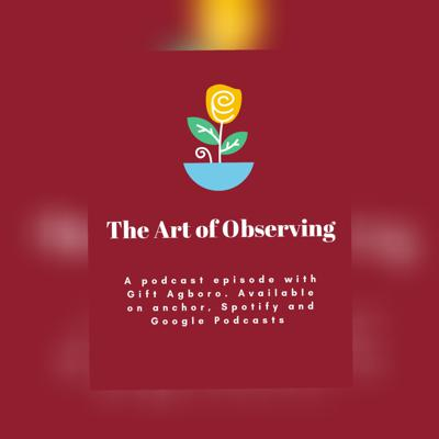 Cover art for The Art of Observing