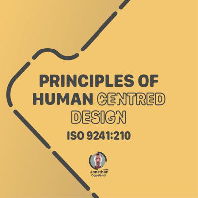 Cover art for Principles of Human Centred Design, ISO 9241:210