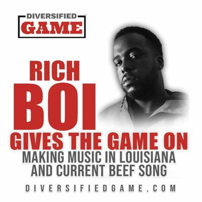 Cover art for Rich Gives The Game On Music and Rap Beef