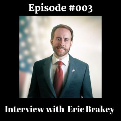 Cover art for RLC Radio Episode #003 - Eric Brakey interview