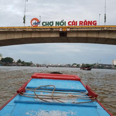 Cover art for Cai Rang floating market