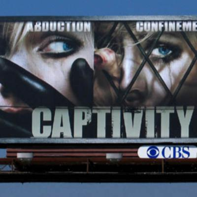 Cover art for Captivity (2007) review/Rant