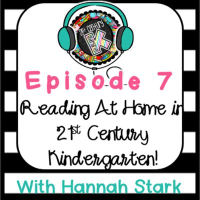 Cover art for Reading at Home in 21st Century Kindergarten