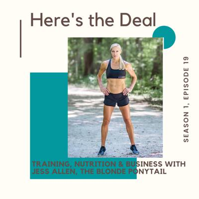 Cover art for Training, Nutrition and Business with Jess Allen