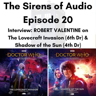 Cover art for Episode 20 - Interview With Author ROB VALENTINE on