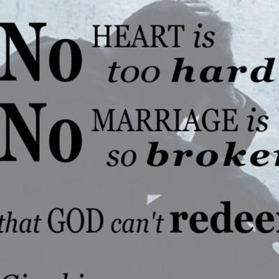 Cover art for God can save your marriage